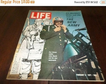 Save 25% Now Vintage February 5 1971 Life Magazine The New Army Excellent Condition Great Old Ads