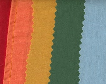 "Light Poly-Cotton Fabric by the yard- 60"" wide, 15 colors"