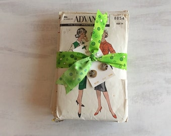 A Bundle of 7 Old Sewing Patterns From the 1960s