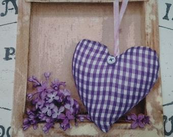 1 Single Paper Napkin for Decoupage,Valentine's heart,purple heart,Mix Media,Collage, Rustic napkins,Vintage heart,Crafty heart,serviettes,