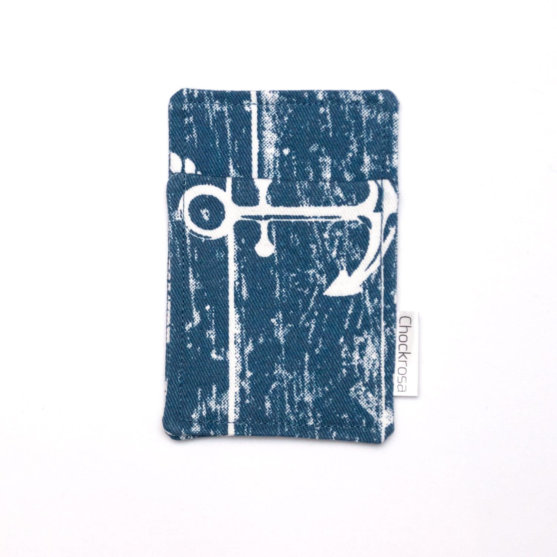 Anchor Minimalist wallet Business card holder Case Slim wallet