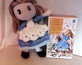 Crochet Alice in Wonderland Doll