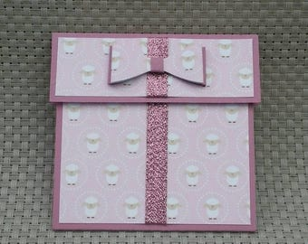 Personalized Gift Card Holder - Also works great with money! (GC0036)