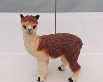 Alpaca table number photo memo holder