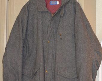Pendleton Wool Men's Coat, Large, Thinsulate Lining