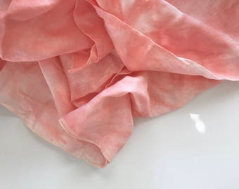 """Summer Swaddle in Hand-dyed Linen 