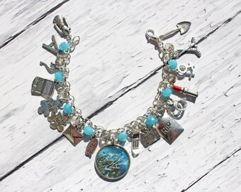 Pretty Little Liars Inspired Charm Bracelet