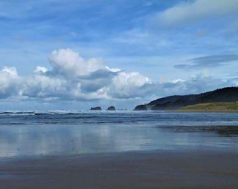 Oregon Coast - Cannon Beach 8x10 Nature Photography Digital Print - Explore Outdoors