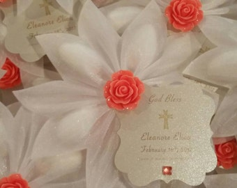Wedding favors, Bridal Shower favors, 1st Communion, Quinceanera, koufeta, Sweet 16th, greek favors, italian favors, baptism favors, almond