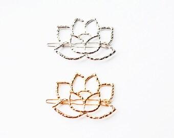 Lotus Flower Hair Clip - 1 PC