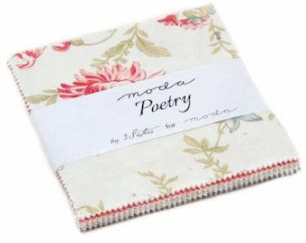 Moda Poetry Prints Charm Pack