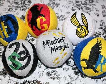 Wizard stuffed balls, soft balls