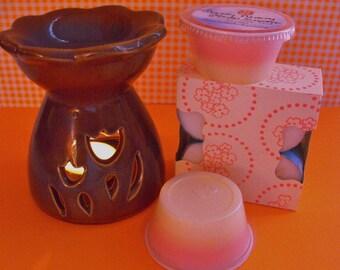 tea light warmer etsy. Black Bedroom Furniture Sets. Home Design Ideas