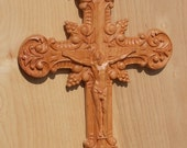 Wooden Crucifix ~ Wood Wa...
