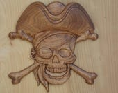Pirate Hat Skull and Bone...