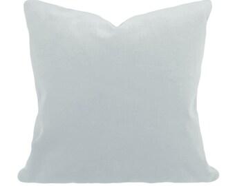 Blue Velvet Pillow Cover - Decorative Pillow - Throw Pillow - Both Sides - 12x16, 12x20, 14x18, 14x24, 16x16, 18x18, 20x20, 22x22, 24x24