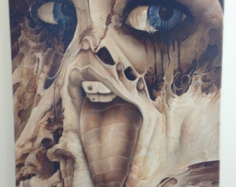 """Smiley Iris, 16x20"""" oil on canvas"""