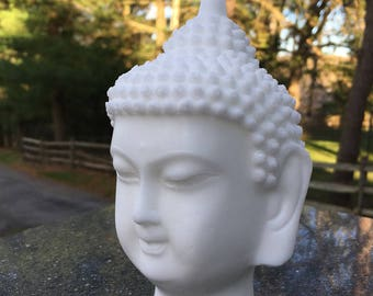 Buddha Statue Soap  Weight 15 Oz  Color  White Gift Present Mineral Mica With Vegetable Glycerin And Kaoline Clay