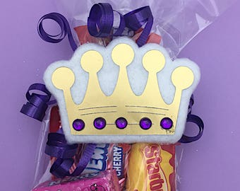 Prince Baby Shower - Prince and Princess Gender Reveal - Prince 1st Birthday - Prince First Birthday - Prince and Princess Party - Crown Tag