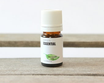 Stress Releasing Blend - Peppermint, Lavender, Eucalyptus Radiata and Helichrysum Essential Oils. Aromatherapy Blend, Headache Essential Oil