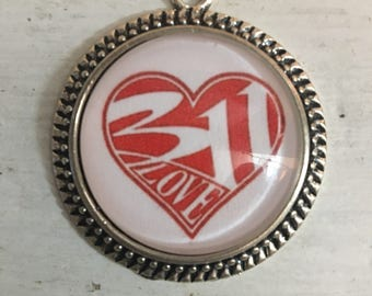 311 Love Necklace
