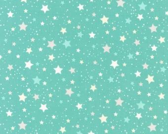 Mint Stars, Space Explorers, by Ann Kelle for Robert Kaufman
