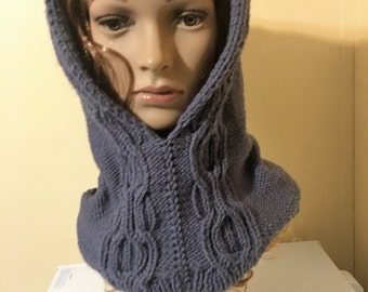 Hooded cowl Katja