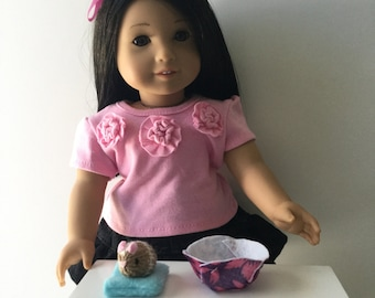 Little Hamster  for 18 inches doll as American Girl Doll