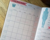 Printed Fitness Planner