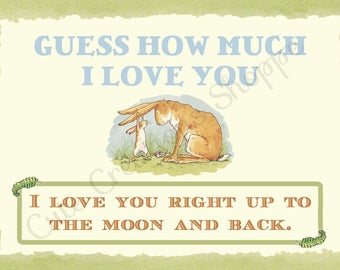 Guess How Much I Love You Small Favor Tag