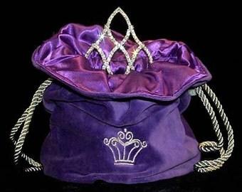 Tiara Bag - Purple