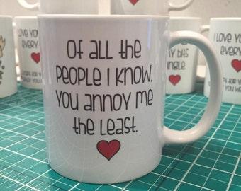 Cheeky Valentines mug by AsBeAu *annoy*