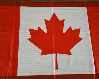 Robert Kaufman Canada Flag (cotton)