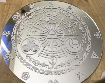 Legend of Zelda Gate of Time mirror FREE SHIPPING
