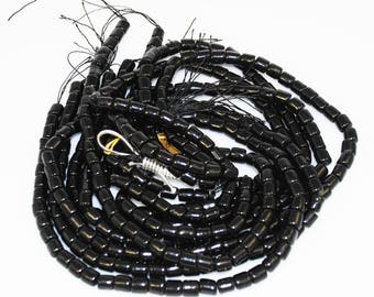Black Coral Tube Beads Strands Rare Natural AA Coral