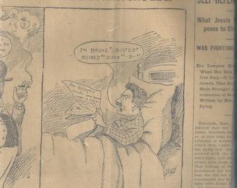 1901 Salt Lake Tribune Newspaper