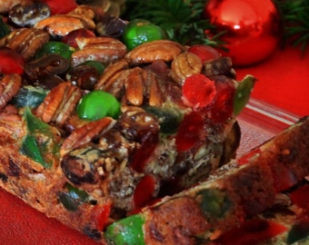 Mary Lou's Famous Homemade Traditional Southern Holiday Fruitcake 3 Pound Loaf ~ Available Year-Round!