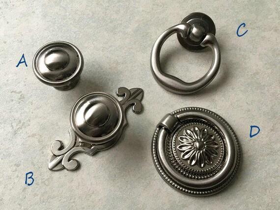 dresser knob drawer knobs pulls knobs handles kitchen cabinet door knobs handle pull knob hardware brushed silver nickel steel drop ring