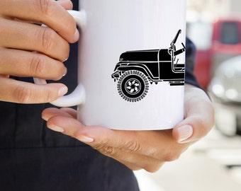 KillerBeeMoto: U.S. Made Vintage American SUV Coffee Mug