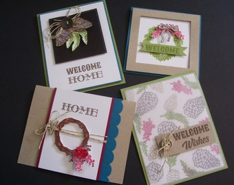 Welcome Wreaths - Fun Stampers Joourney