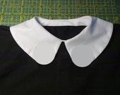 Grembiule - Camice Cotone 100%  con martingala - Colletto staccabile alla Peter Pan