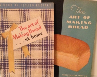 ON SALE The Art of Making Bread Northwestern Yeast Company IL Cookbooks Pamphlets 1935