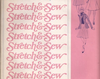 Stretch & Sew 425 Ladies Gored Skirts Vintage 1976