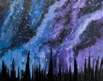 Original Acrylic Painting On Gallery Wrapped Canvas