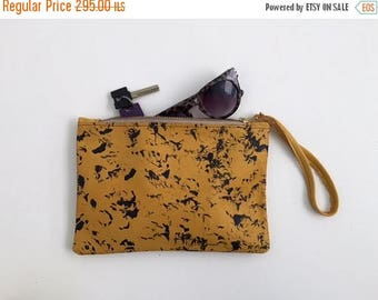 Yellow leather clutch,Leather handbag,Yellow leather purse,Yellow evening bag