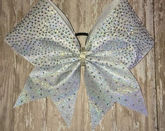 Rhinestone Cheer Bow