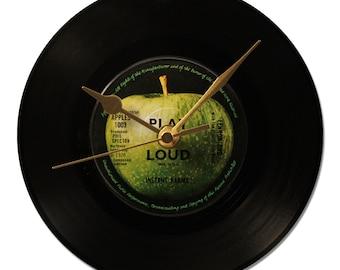 """Clock Vinyl JOHN LENNON """"Instant Karma"""""""