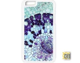 Galaxy S8 Case, S8 Plus Case, Galaxy S7 Case, Galaxy S7 Edge Case, Galaxy Note 5 Case, Galaxy S6 Case - Purple Leaf