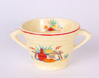 Mt Clemens Sugar Bowl w/Mexican Decals