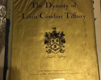 Louis Comfort Tiffany collection books